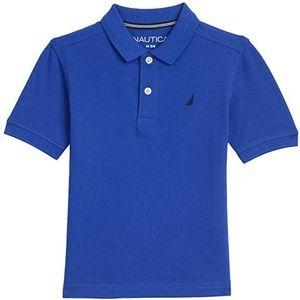 Boys short sleeve deck shirt